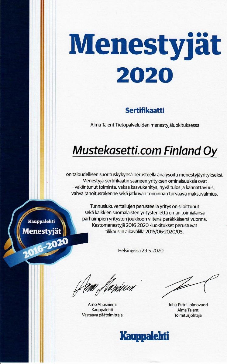 Kauppalehden Kestomenestyjä_2016-2020
