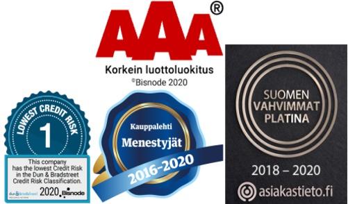 Mustekasetti.com Suomen Vahvimmat Platina, AAA Kestomenestyjä