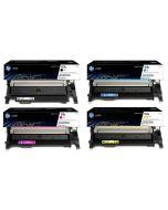 HP 117A, 4-väri CMYK musta 1000 sivua, värit 700 sivua/kpl Original