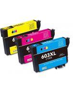 Epson C13T03A64010,  603XL, 3-väri CMY 36ml x 3 enemmän Mustekasetti.com