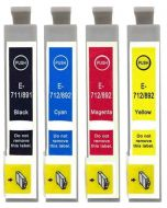 Epson T0715 4-pakkaus CMYK 60ml Mustekasetti.com