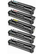 HP CB540A 5-väri CMYKK Mustekasetti.com