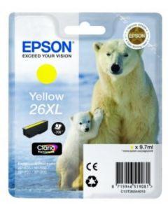 Epson C13T26344010 keltainen XL 9,7ml Original mustekasetti