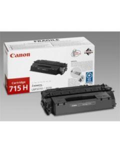 Canon 1976B002 CRG 715H /3310 musta HC 7000 sivua Original mustekasetti
