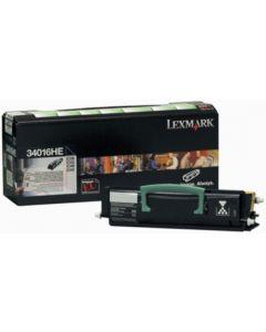 Lexmark 34016HE musta 6000 sivua Original mustekasetti