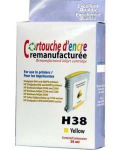 HP C4838A No 11 keltainen 28ml Mustekasetti.com