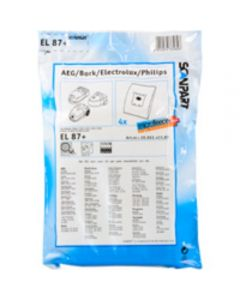 Pölypussit Electrolux, Philips, Volta imureihin mikrokuitu x 4kpl S-Bag -yhteensopiva
