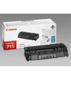 Canon 1975B002 CRG 715 2100 sivua musta Original mustekasetti