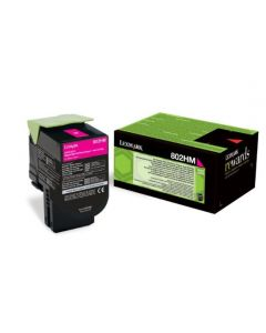 Lexmark 80C2HM0 CX410 magenta 3000 sivua Original mustekasetti