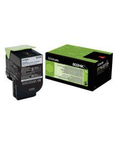 Lexmark 80C2HK0 CX410 musta 4000 sivua Original mustekasetti