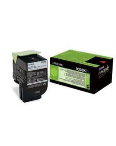 Lexmark 80C2SK0 CX410 musta 2500 sivua Original mustekasetti