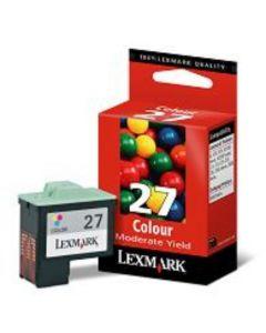 Lexmark 10NX227E No 27 3-väri Original mustekasetti