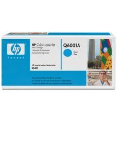 HP Q6001A syaani 2000 sivua Original mustekasetti