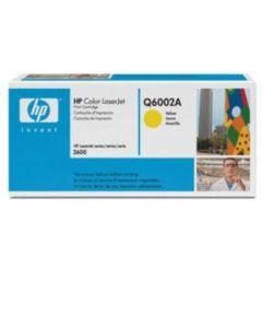 HP Q6002A keltainen 2000 sivua Original mustekasetti