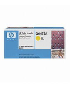 HP Q6472A keltainen 4000 sivua Original mustekasetti