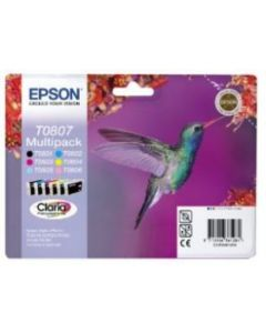 Epson C13T08074010 Stylus Photo RX560 Multipack Original mustekasetti