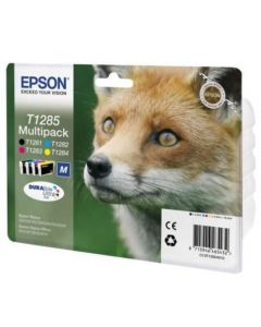 Epson DURABrite T1285 Multi Pack (C/M/Y/K) mustepakkaus 16,4ml