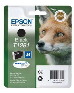 Epson T1281 musta 5,9ml Original mustekasetti