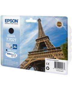 Epson C13T70214010 musta XL 2400 sivua Original mustekasetti