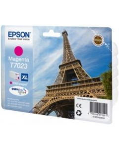 Epson C13T70234010 magenta XL 2000 sivua Original mustekasetti