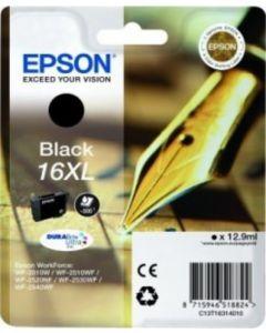 Epson C13T16314010 musta T16XL 12,9ml Original mustekasetti