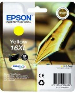 Epson C13T16344010 keltainen T16XL 6,5ml Original mustekasetti