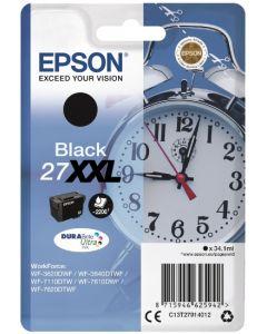 Epson C13T27914012 Durabrite 27XXL musta 34,1ml Original mustekasetti