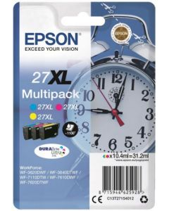 Epson C13T27154012 Durabrite 27XL multipack 3-väri Original mustekasetti