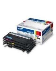 Samsung CLT-P4072C rainbow-kit 4-pakkaus CMYK Original mustekasetti