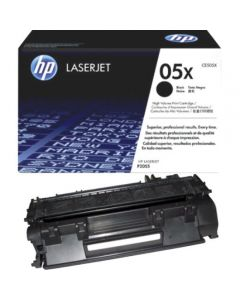 HP CE505X musta 6500 sivua Original mustekasetti