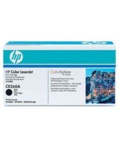 HP CE260X musta 17000 sivua Original mustekasetti