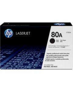 HP CF280A HP 80A musta 2700 sivua Original mustekasetti