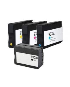 HP CN053AE HP 932XL + 933XL 4-pakkaus CMYK 80ml Mustekasetti.com