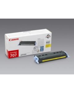 Canon 9421A004 keltainen, CRG 707 2000 sivua Original mustekasetti