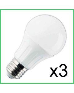 Aigo LED-kupulamppu E27 12W 984lm (75W) x3 kpl -HUIPPUTARJOUS