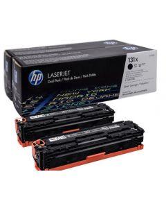 HP CF210XD, musta 4800 sivua Dualpack Original mustekasetti