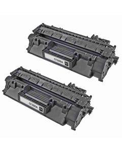 HP CF280AD musta 2700 sivua x 2 kpl Mustekasetti.com