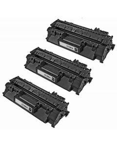 HP CF280AD musta 2700 sivua x 3 kpl Mustekasetti.com