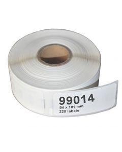 Mustekasetti.com-tarvike, non-OEM Dymo 99014 Seiko Lähetystarra 101mm x 54mm, 220 kpl