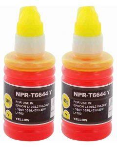 Epson C13T03R440 EcoTank 102 keltainen 200ml 2,9x enemmän Mustekasetti.com