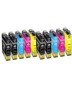 Epson C13T02W14010, Epson 502XL, 10-väri 128ml x 1,8 enemmän Mustekasetti.com
