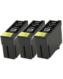 Epson C13T16814012, musta 16XXL 22ml x 3 kpl Mustekasetti.com (Vain WF-2660DWF)