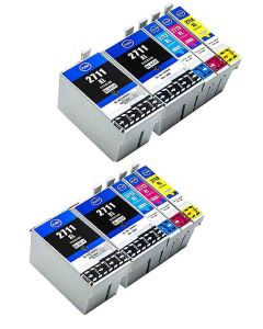 Epson C13T27154010 10-pakkaus CMYKK x 230ml Mustekasetti.com