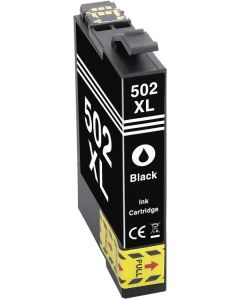 Epson C13T02W14010, Epson 502XL, musta 14ml  x 1,6  enemmän Mustekasetti.com