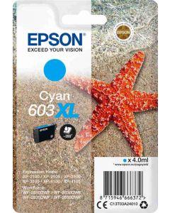 Epson C13T03A24010, 603XL syaani 4ml sivua Original