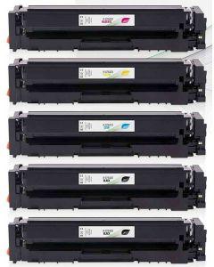 HP CF540X, HP 203X  5-väri CMYK Mustekasetti.com