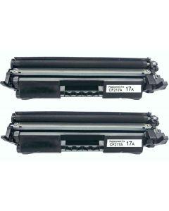 HP CF217A musta 1600 sivua x 2 = 3200 sivua Mustekasetti.com