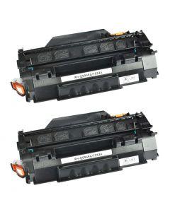HP Q5949A musta 2500 sivua x 2kpl Mustekasetti.com