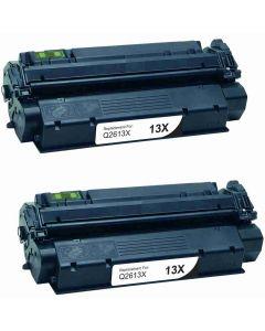 HP Q2613X musta 4000 sivua x 2 = 8000 sivua Mustekasetti.com