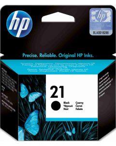 HP C9351AE, HP 21 musta 5ml Original mustekasetti